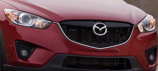 2013 Mazda CX-5 - Maroon - nose zoom