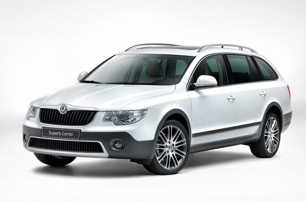 "Škoda Superb Combi Outdoor is Czech for ""Allroad"""