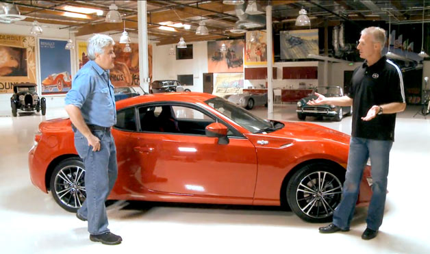 2013 Scion FR-S in Jay Leno's Big Dog Garage with Scion's Jack Holllis