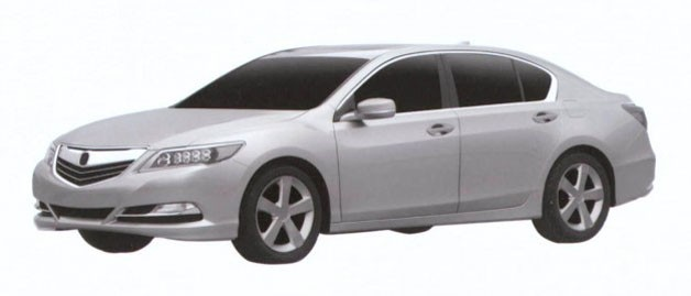 Acura RLX patent filing