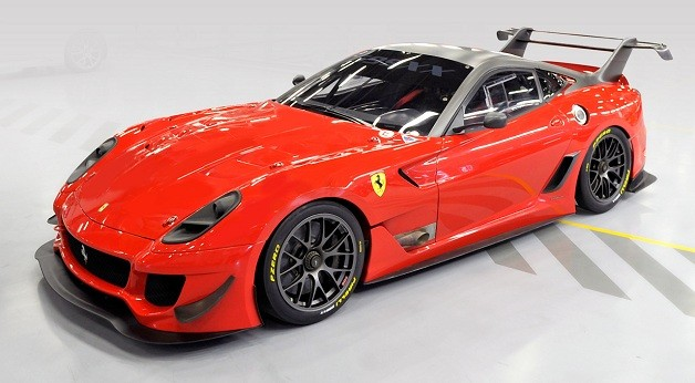 Ferrari 599XX Evo charity auction