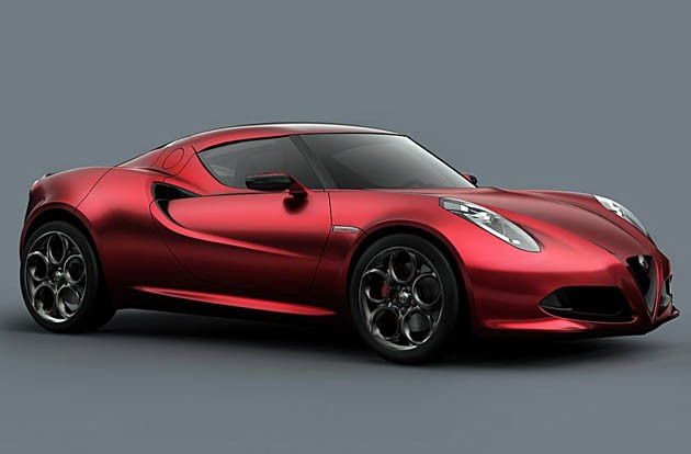 Alfa Romeo 4C Concept