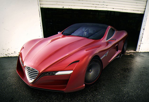 Alfa Romeo 12C GTS concept by Ugur Sahin