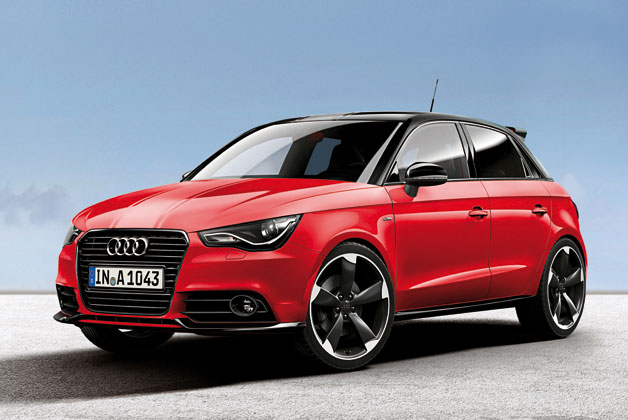 Audi Unveils A1 In Exclusive Red And White Flavors Evoxforums Com Mitsubishi Lancer
