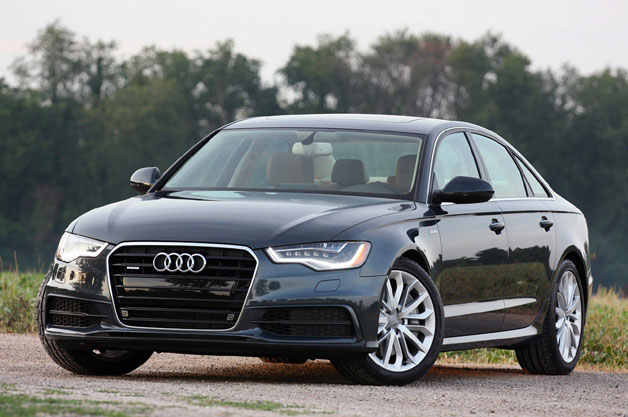 2012 Audi A6 Quattro - front three-quarter view