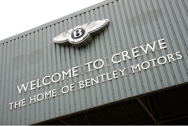 Bentley factory in Crewe