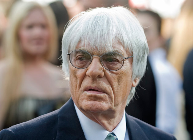 F1 boss Bernie Ecclestone at Canadian GP