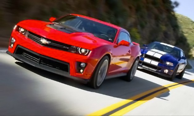 Camaro ZL1 goes head-to-head with Shelby GT500 in 1,242-horsepower