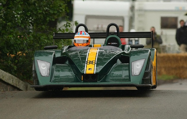 Caterham SP300.R at 2012 Cholmondeley Pageant of Power