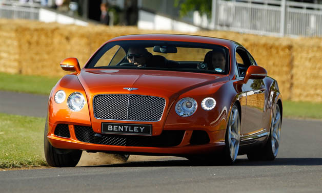 Bentley Continental GT at 2011 Goodwood Festival of Speed
