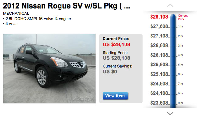 List your vehicle for sale on a reputable auction site