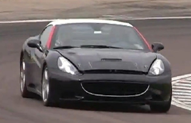 Ferrari California prototype