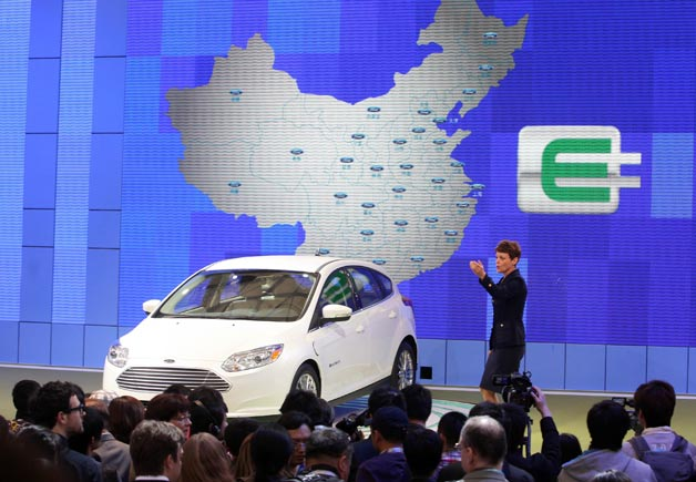 Ford Focus Electric revealed at 2011 Shanghai Motor Expo