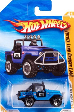 Hot Wheels Toyota Land Cruiser FJ40