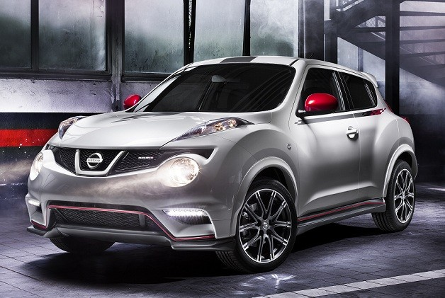 2013 Nissan Juke Nismo - front three-quarter view