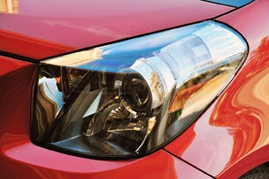 2012 Scion iQ headlight