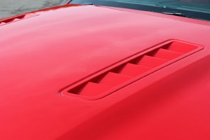 2013 Ford Mustang GT Convertible hood vents