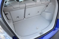 2013 Honda Fit EV rear cargo area