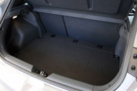 2013 Hyundai Elantra GT rear cargo area