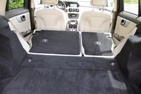 2013 Mercedes-Benz GLK rear cargo area