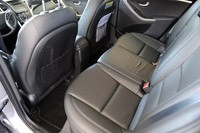 2013 Hyundai Elantra GT rear seats
