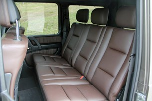 2013 Mercedes-Benz G63 AMG rear seats