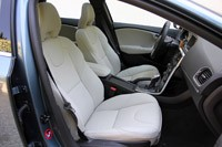 2013 Volvo V40 front seats
