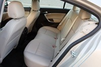 2012 Buick Regal eAssist rear seats
