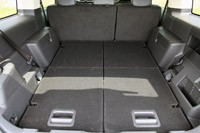 2013 Ford Flex rear cargo area