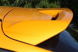2013 Ford Focus ST rear spoiler