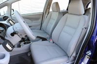 2013 Honda Fit EV front seats