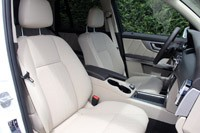 2013 Mercedes-Benz GLK front seats