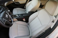 2012 Buick Regal eAssist front seats