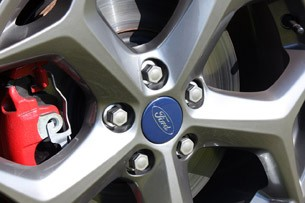 2013 Ford Focus ST wheel detail
