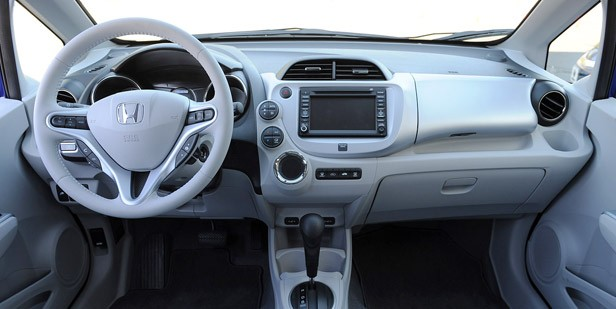 2013 Honda Fit EV interior