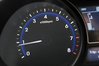 2013 Hyundai Veloster Turbo tachometer