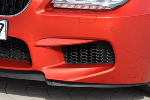 2013 BMW M6 front fascia