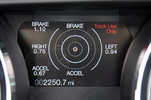 2013 Ford Mustang GT Convertible Track Apps
