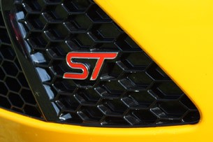 2013 Ford Focus ST badge
