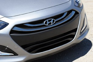 2013 Hyundai Elantra GT grille