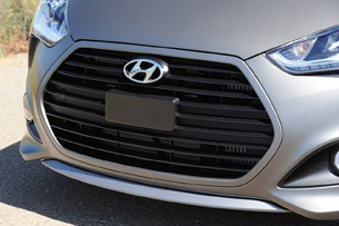 2013 Hyundai Veloster Turbo grille