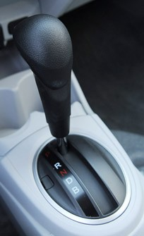 2013 Honda Fit EV gear selector