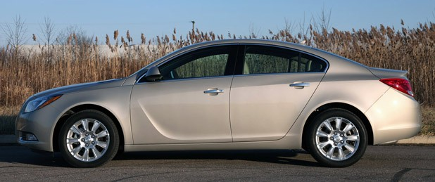 2012 Buick Regal eAssist side view