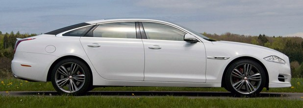 2012 Jaguar XJ Sport and Speed side view