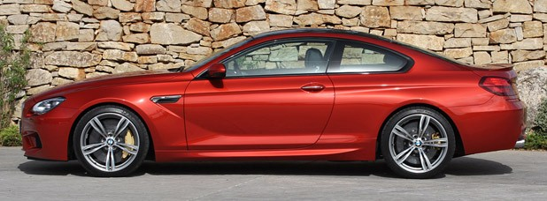 2013 BMW M6 side view
