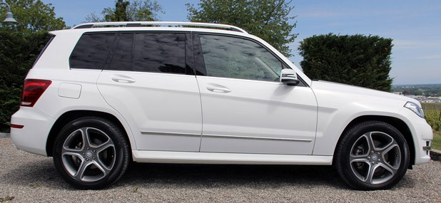 2013 Mercedes-Benz GLK side view