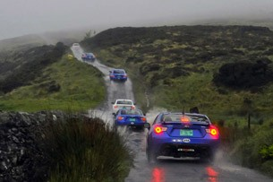 lead2 subaru isle of man 2012 Driving on the edge with Subaru at the Isle of Man