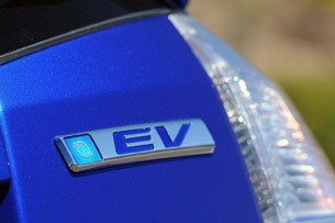 2013 Honda Fit EV badge
