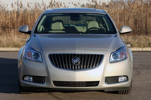 2012 Buick Regal eAssist front view