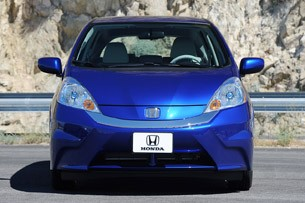 2013 Honda Fit EV front view